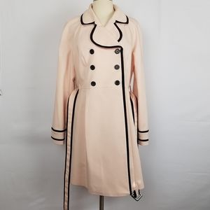 ELLE PINK TRENCH COAT